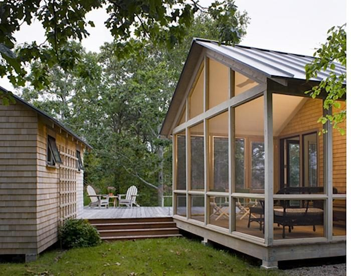 Porch in new england by estes twombly architects home for Estes twombly architects