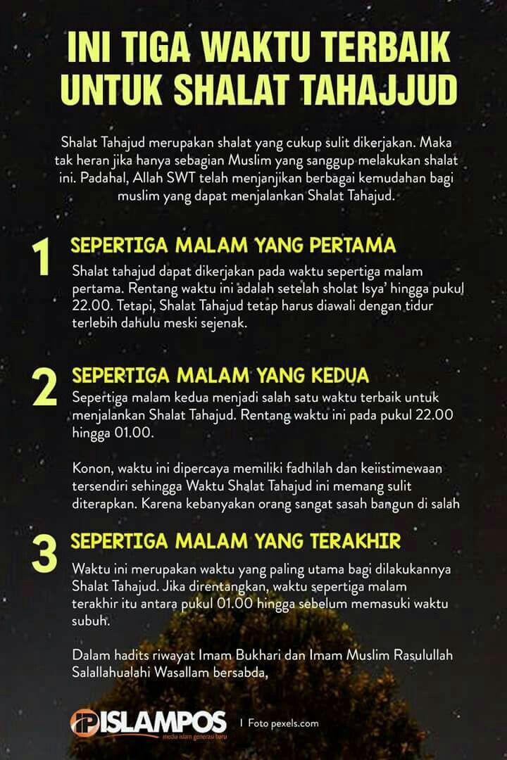 No Matter Wad Sleep Is Needed Then Tahajud Ok Got It Kekuatan Doa Sembahyang Kutipan Agama