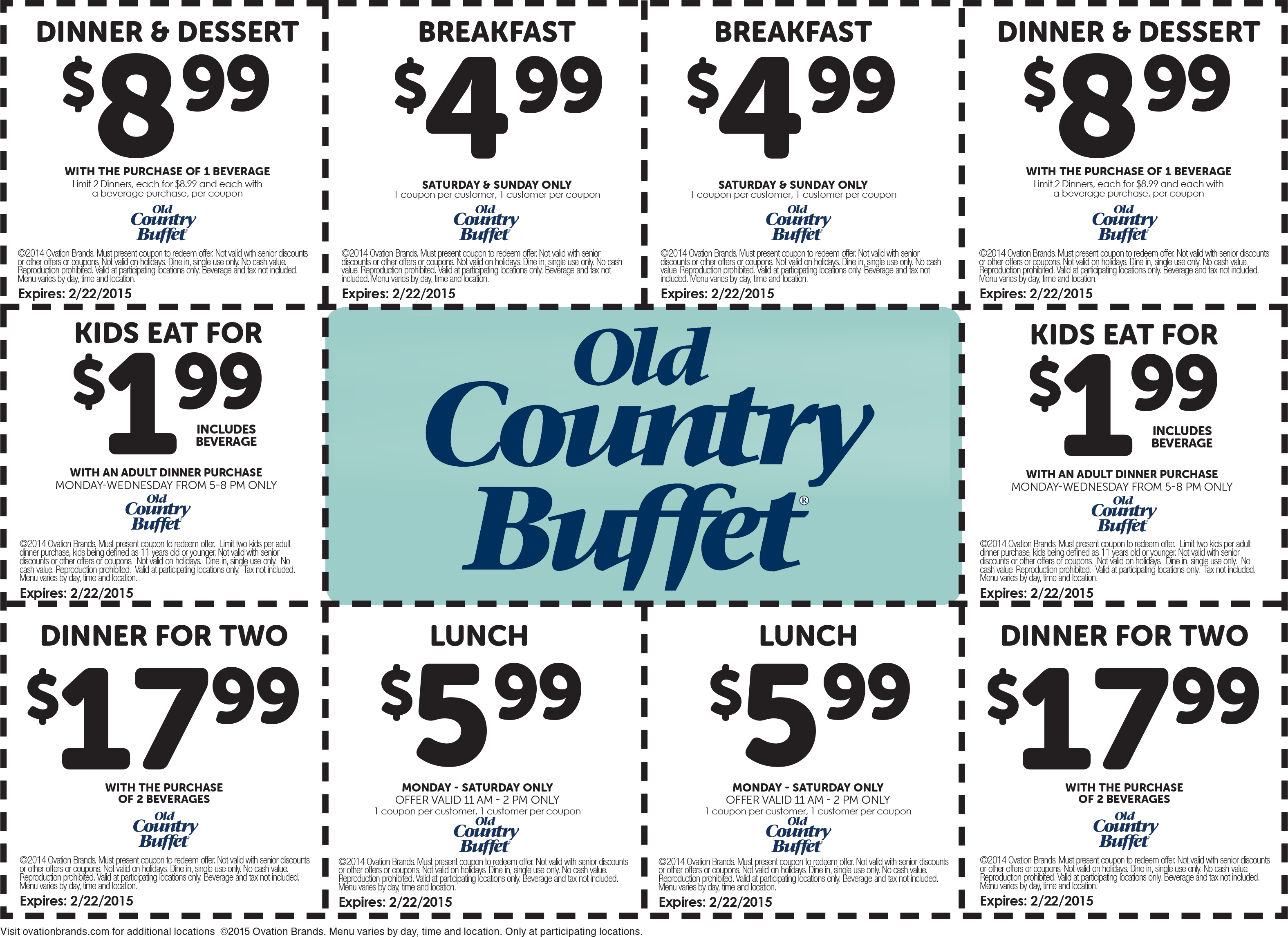 pinned december 31st 2 kids 5 breakfast 6 lunch more at old rh pinterest com old country buffet coupons old country buffet coupons burnsville mn