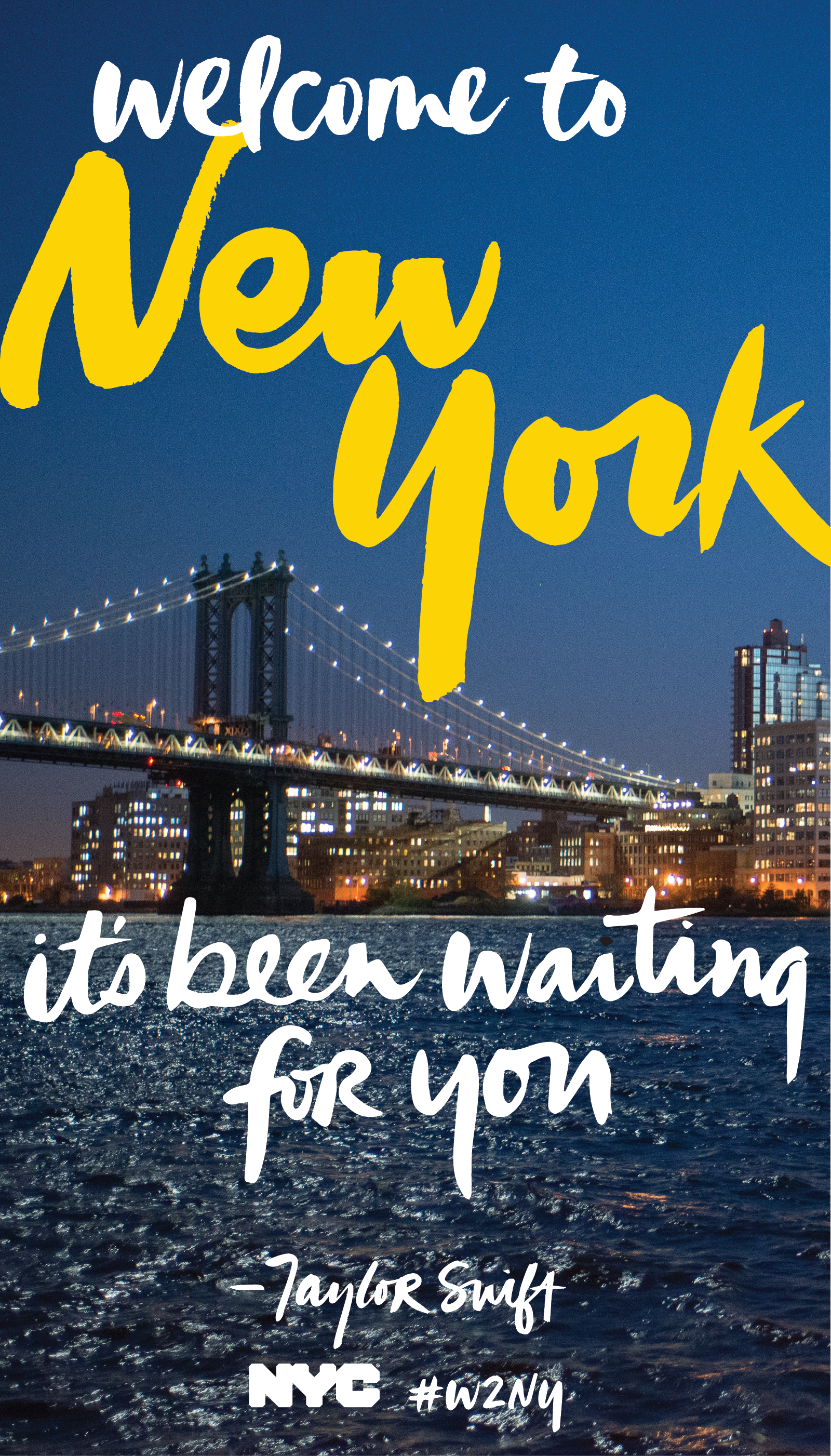 Welcome To New York Its Been Waiting For You Taylor Swift The