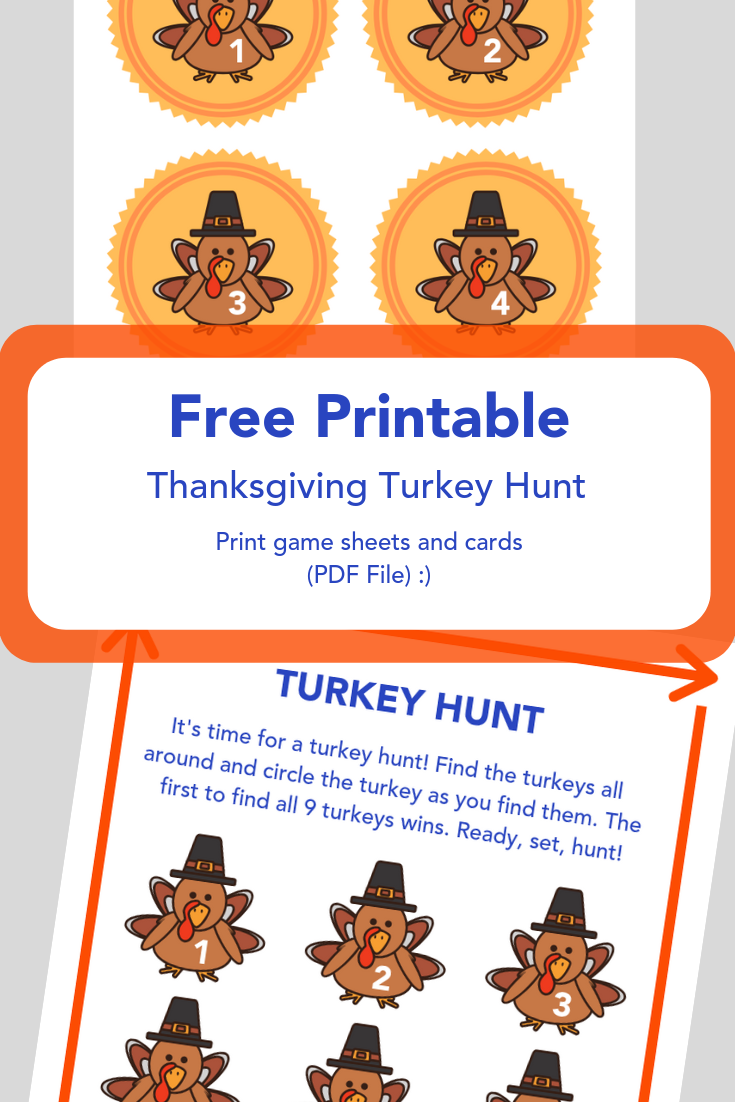 Thanksgiving Turkey Hunt – Imagilane - Toys for Creative Minds