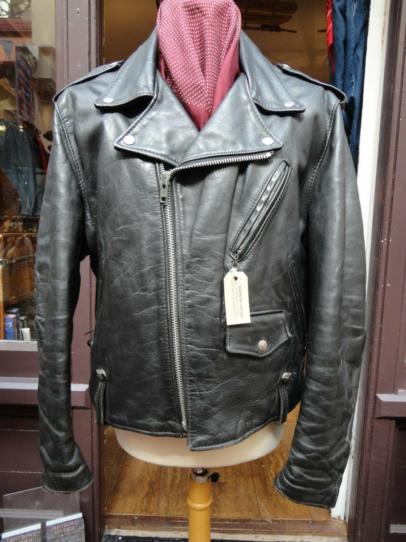 classic perfecto brando leather motorcycle jacket
