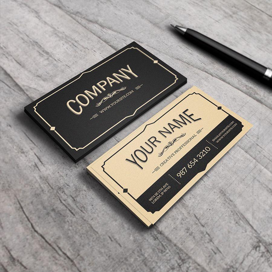 Yukon - Old Style Vintage Business Card by macrochromatic.deviantart ...