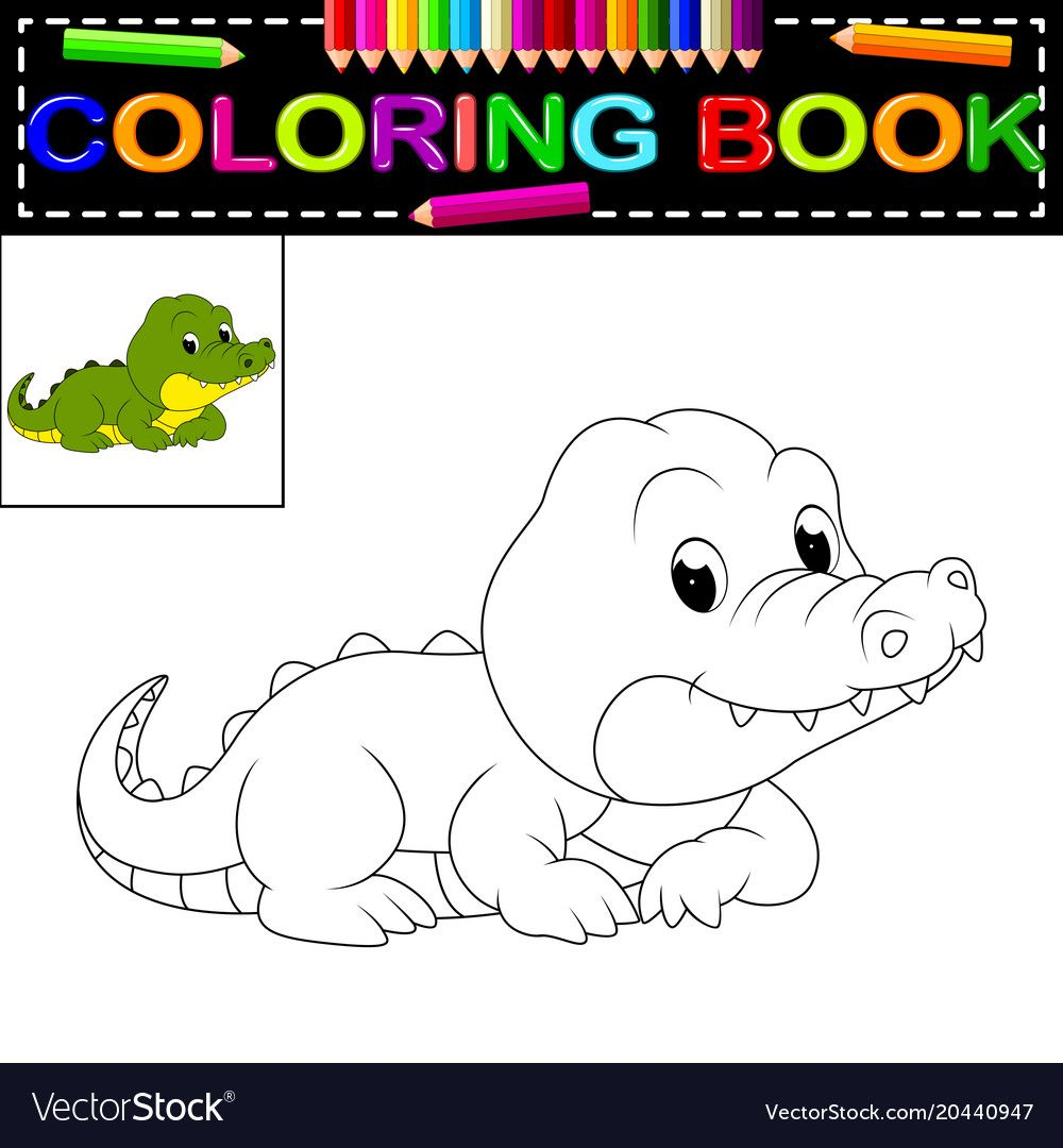 36+ Cute crocodile coloring pages ideas in 2021