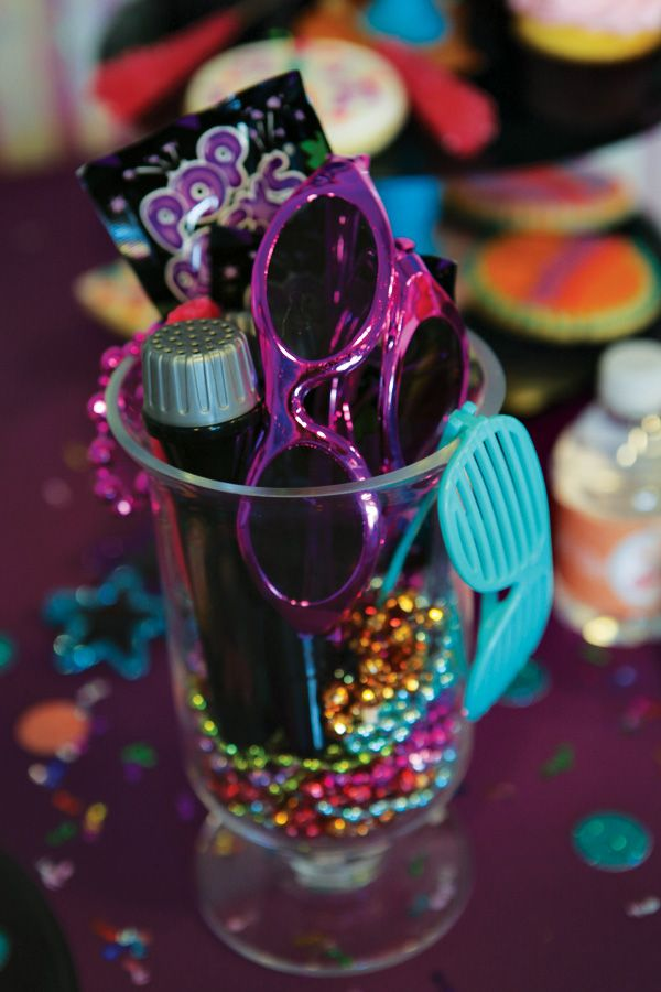 Girly Themed Rockstar Birthday Party // Hostess with the Mostess®
