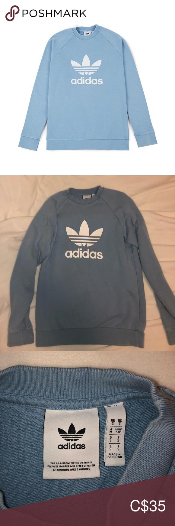 Adidas Crew Neck Adidas Crew Neck Blue Adidas Adidas Sweater [ 1740 x 580 Pixel ]