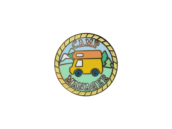 Camp Manager Badge NativeGoldClothing Badge, Animal