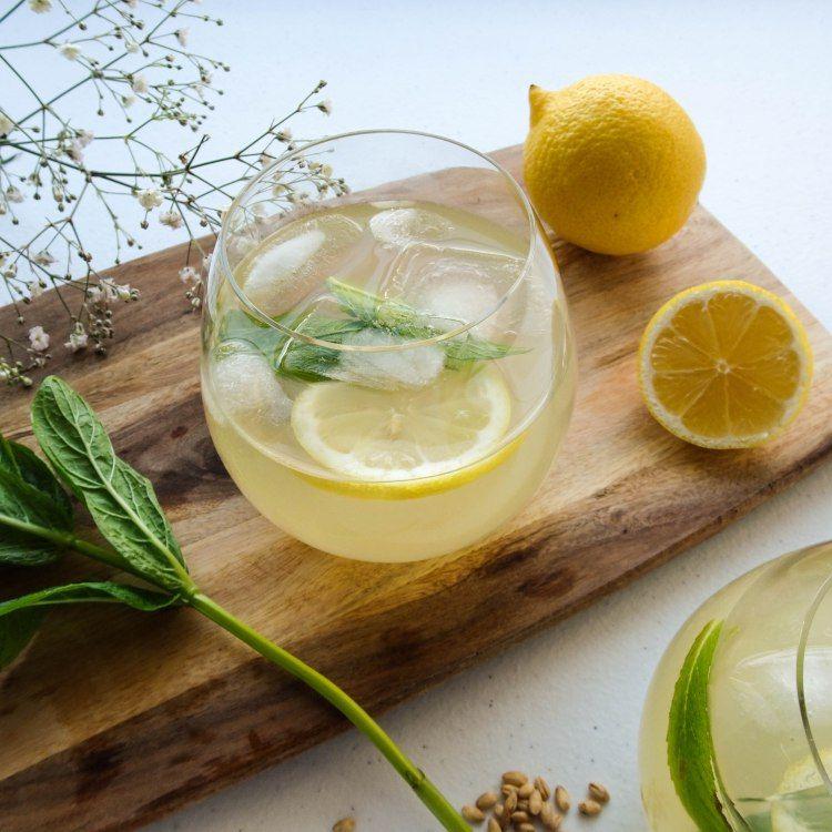 Lemon Barley Water Lemon barley water, How to cook