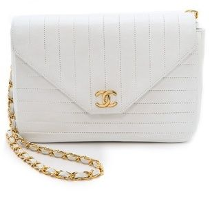 4904d30e3781 WGACA What Goes Around Comes Around Chanel Straight Line Bag on shopstyle .com