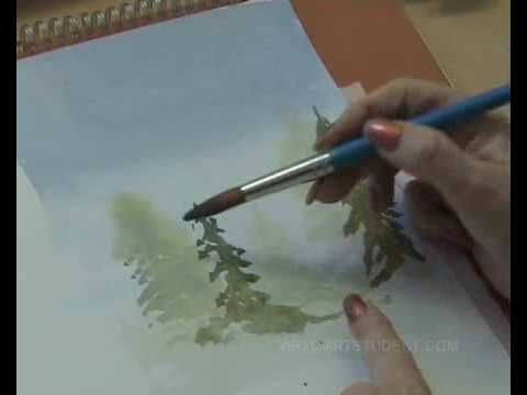 How To Paint With Watercolours Wet Into Wet All The Tips
