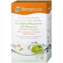 Ferrotone Eisen m.Apfelkonzentrat u.Vitamin C Btl. 14X25 ml Nelsons – Carey&CleanEatingS