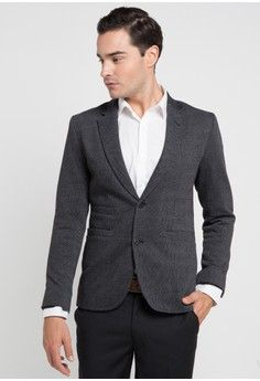 Pria Pakaian Outerwear Jas FORMAL BLAZER VALINO