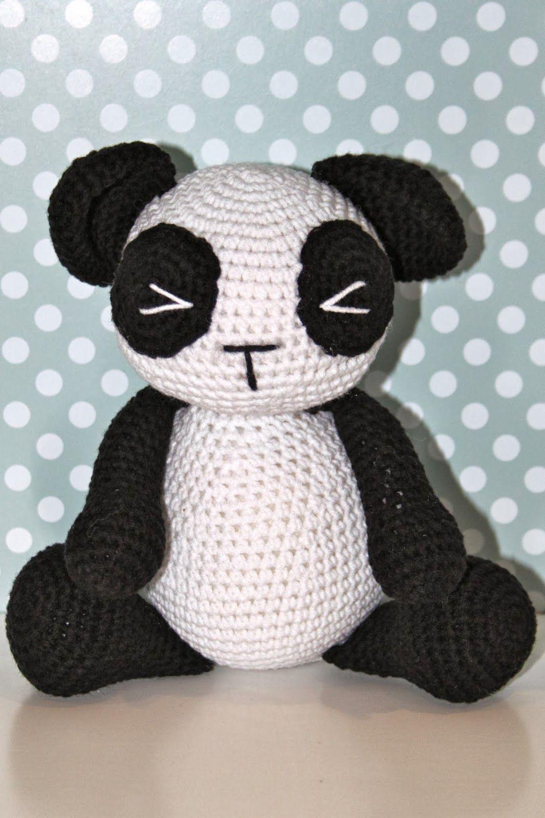 Guiños de lana: Es el panda, es el panda.... | mandar | Pinterest ...