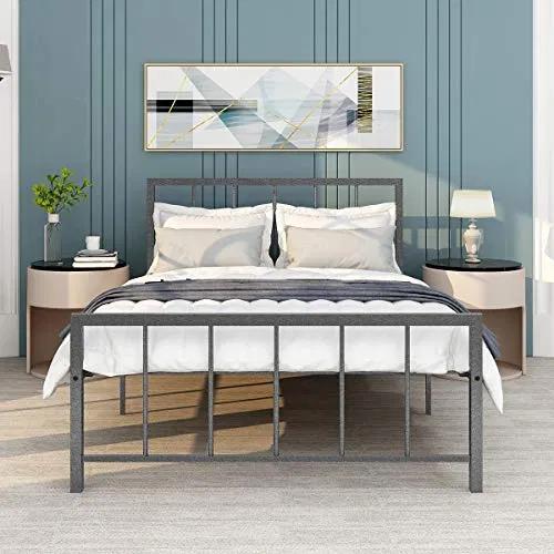 Metal Bed Frame Full Size Platform with