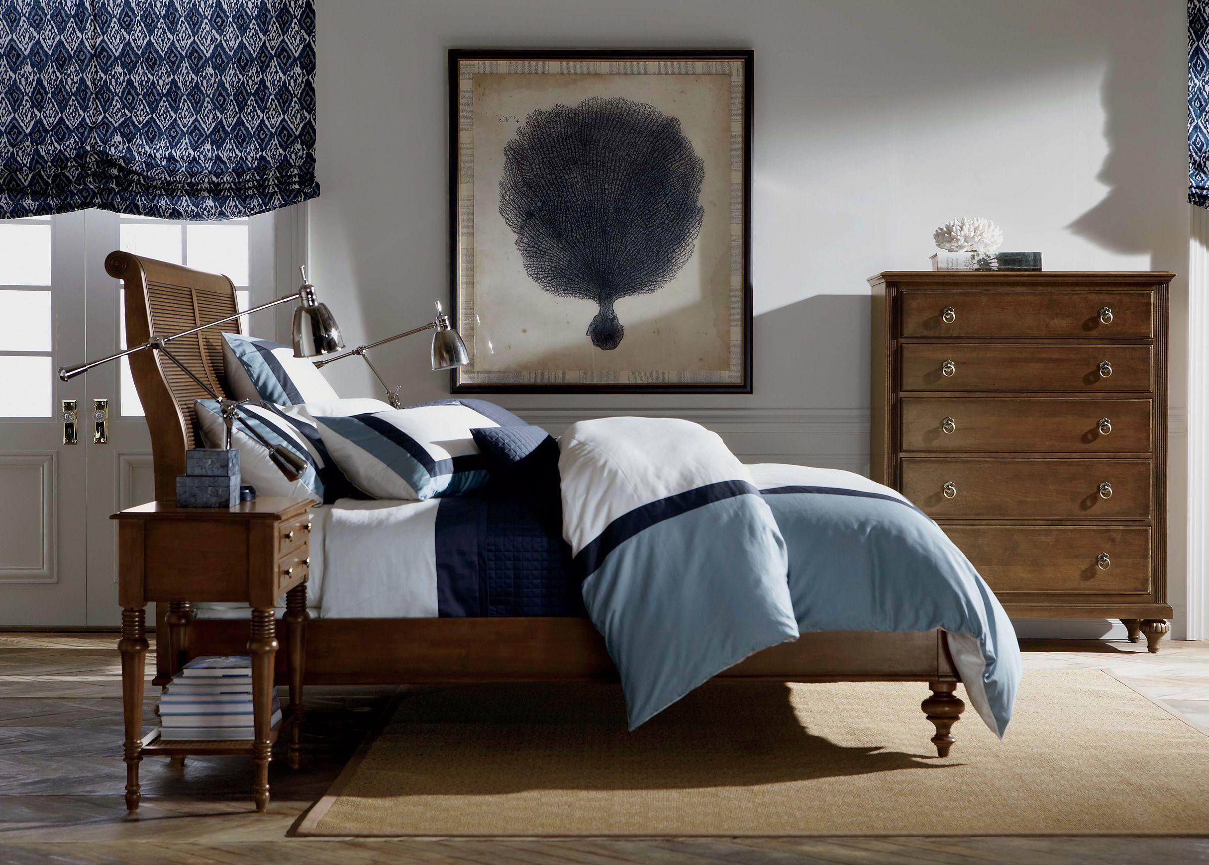 cayman bed  ethan allen sleigh beds  bedroom