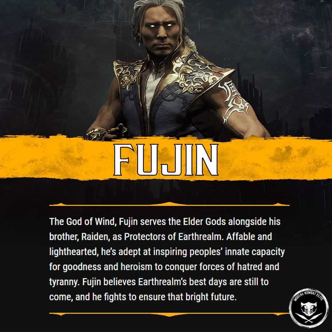 Mkelite Mk Content Creator On Instagram Fujin S Bio Like This Post Leave A Comment Follow Inspirational People Content Creator Mortal Kombat