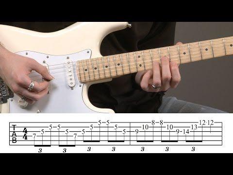 Mark Knopfler Guitar Licks Lesson Youtube Music Pinterest