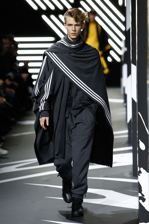 quality design 95fa1 ef325  y-3   A W 2014-15 Runway Show - Men s Look  adidas  Y3  Y3show  PFW