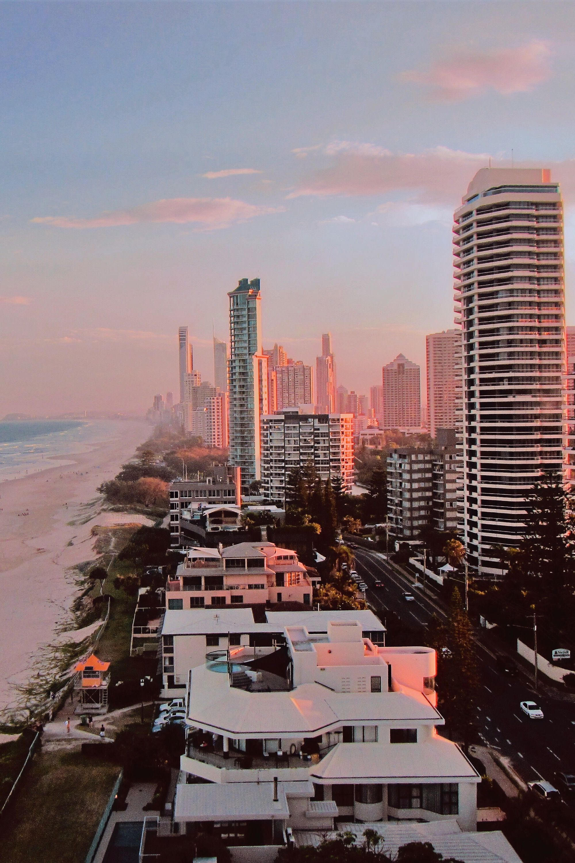 The beautiful Main Beach on the Gold Coast in sunny Queensland, AustraliaThe #beautiful #Main #Beach #on #the #Gold #Coast #in #sunny #Queensland, #Australia #australia