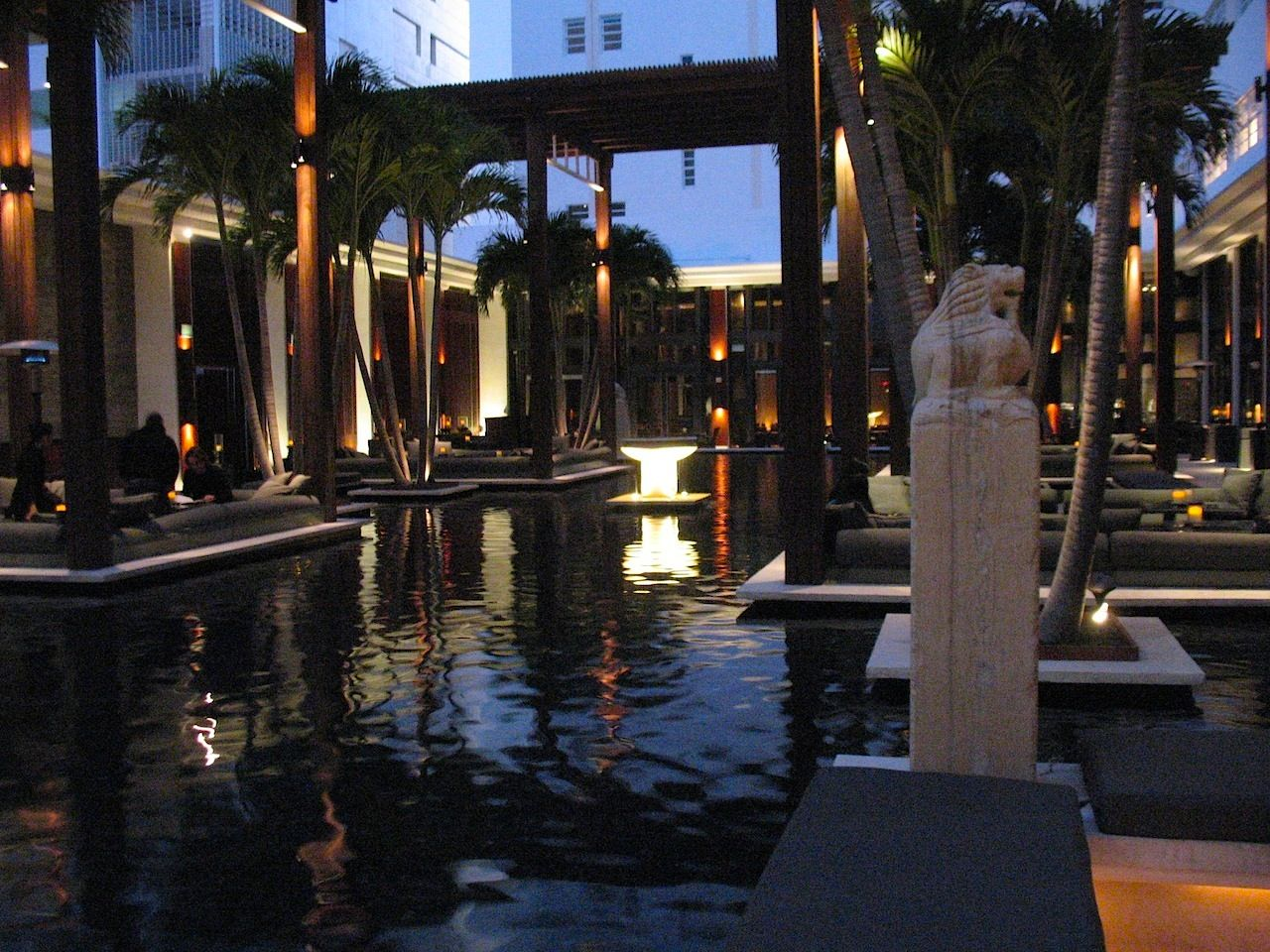 The Setai Hotel In South Beach Miami