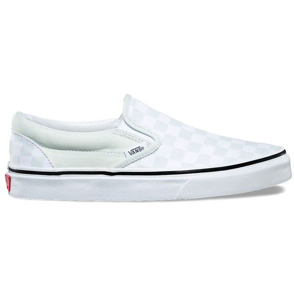 93cd478e53 Vans Checkerboard Slip-On ( 50) ❤ liked on Polyvore featuring shoes ...
