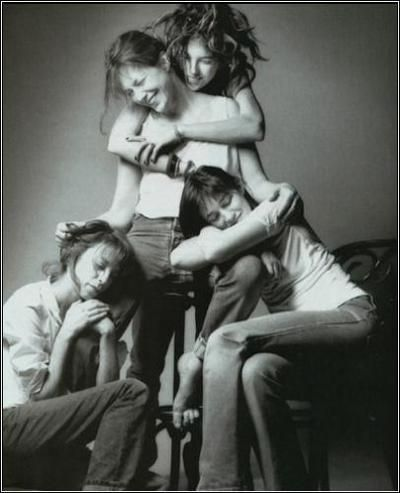 little women. Jane, Kate, Lou & Charlotte.