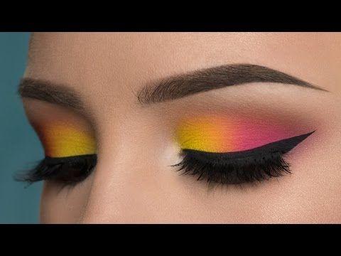 Colorful Spring Makeup Tutorial Using Sleek S Ultra Mattes V1