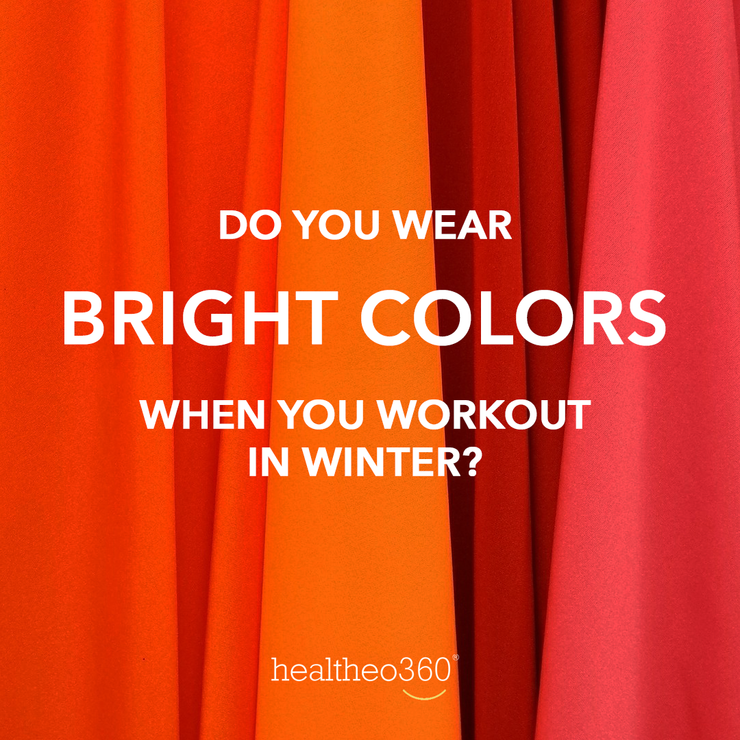 You should! It's not just colder in #winter, it's darker. Wearing bright clothes will make you more...
