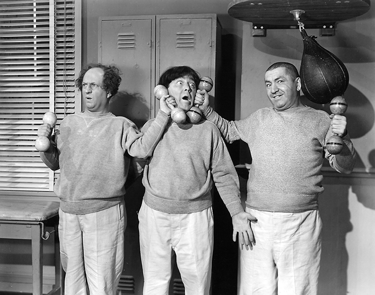 """#TheThreeStooges .... """"To stay motivated during #FitnessMonth The Boys have some advice."""".....   http://www.threestooges.com/2016/05/19/fitness-with-the-three-stooges-is-a-laughing-matter/?tag=three%2Bstooges&afid=118"""