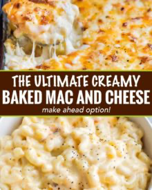 Creamy Baked Mac and Cheese (Contest-Winning!) - The Chunky Chef