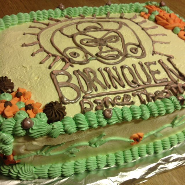 Pleasing Cake Created For Borinquen Dance Theatre In Rochester Ny Dance Funny Birthday Cards Online Overcheapnameinfo