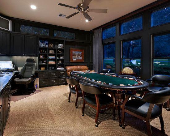 Wednesday Night Is Poker Night Its Mans Night Home Office