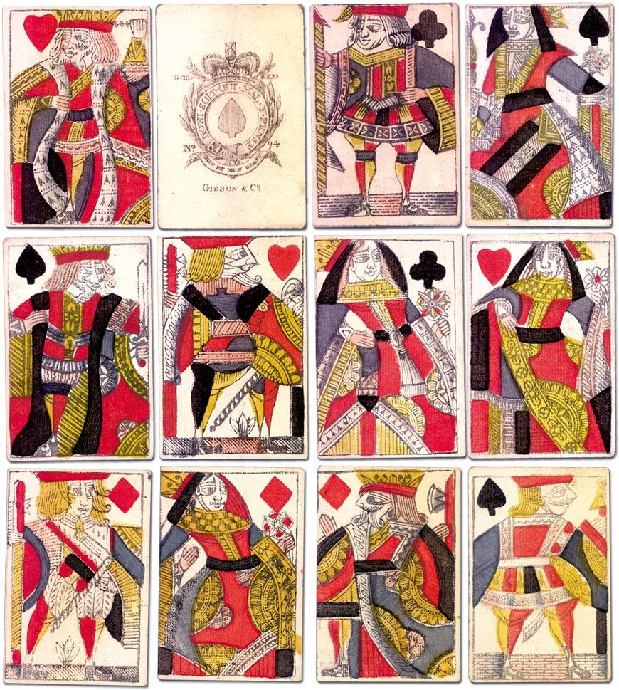 Gibson & Co., c.1770 - The World of Playing Cards