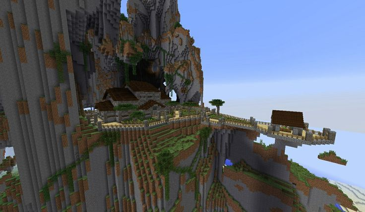 Minecraft Mountain Castle Ideas - Google Search
