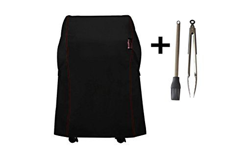 Broilpro Accessories Bpa3 Heavy Duty Grill Cover For Weber Spirit 210 Series Gas Grills Compared To Weber 7105 Including Grill Cover Gas Grill Basting Brushes