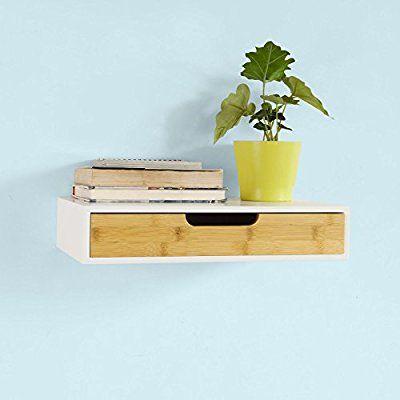 SoBuy® FRG92-WN Schweberegal, Wandschrank, Hängeschrank - küchen hängeschränke ikea