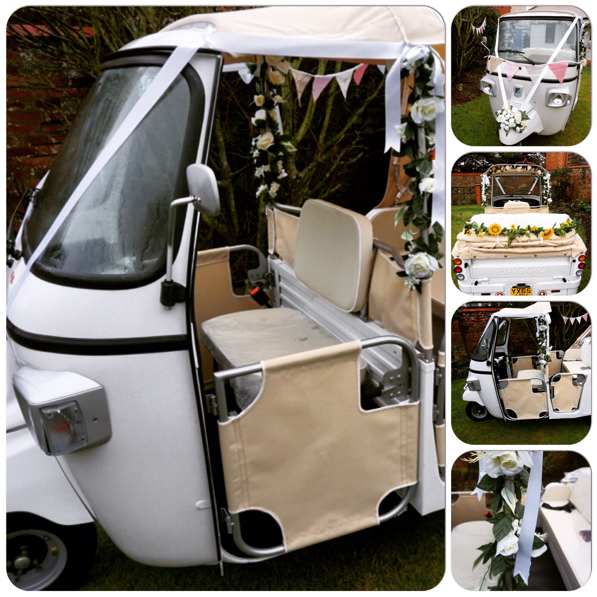 Wedding Tuk From Tuktuktransport Co Uk