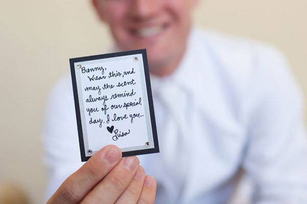 20 Seriously Sweet Wedding Morning Gift Ideas For Grooms Wedding
