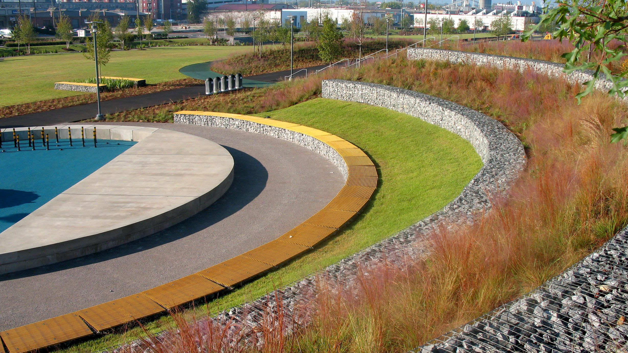 Railroad Park Tls Landscape Architecture Urban Landscape Design Landscape And Urbanism Landscape Architecture