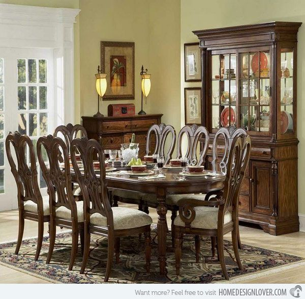 20 Traditional Dining Room Designs  Traditional Dining Rooms Fascinating Dining Rooms Design Inspiration