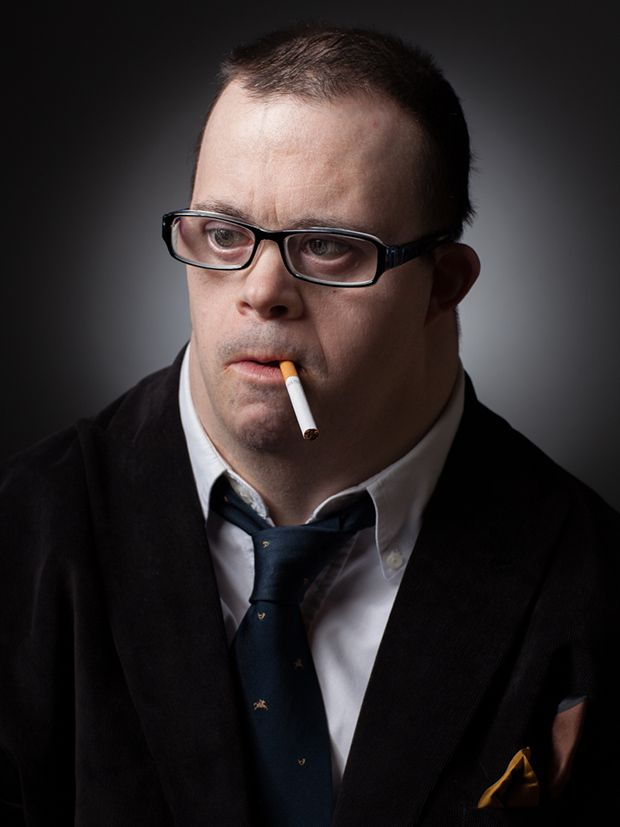 Conceptual Portraits Of A Man With Down Syndrome Reference