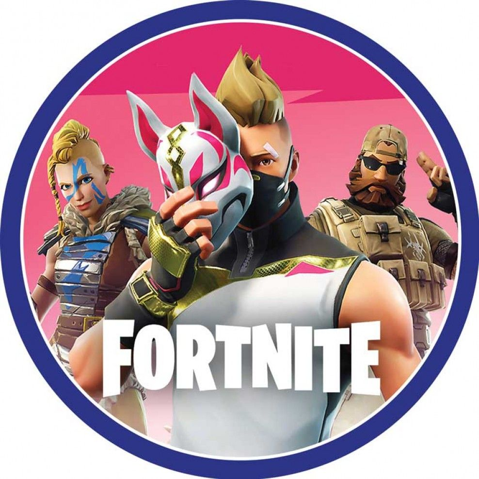 Fortnite Round Fortnine Theme En 2019 Cake Images Cake Y Boy