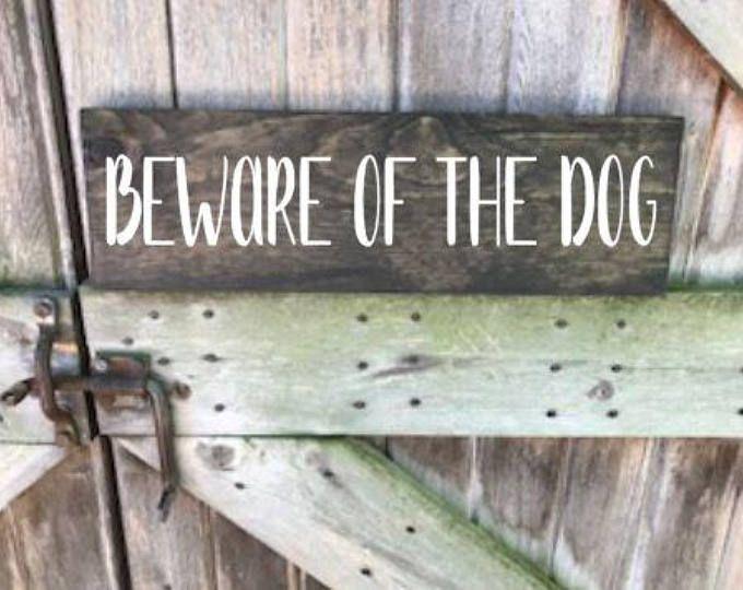 Beware Of Dog Sign Beware Of Dog Door Sign Dog Sign Beware Of Dog