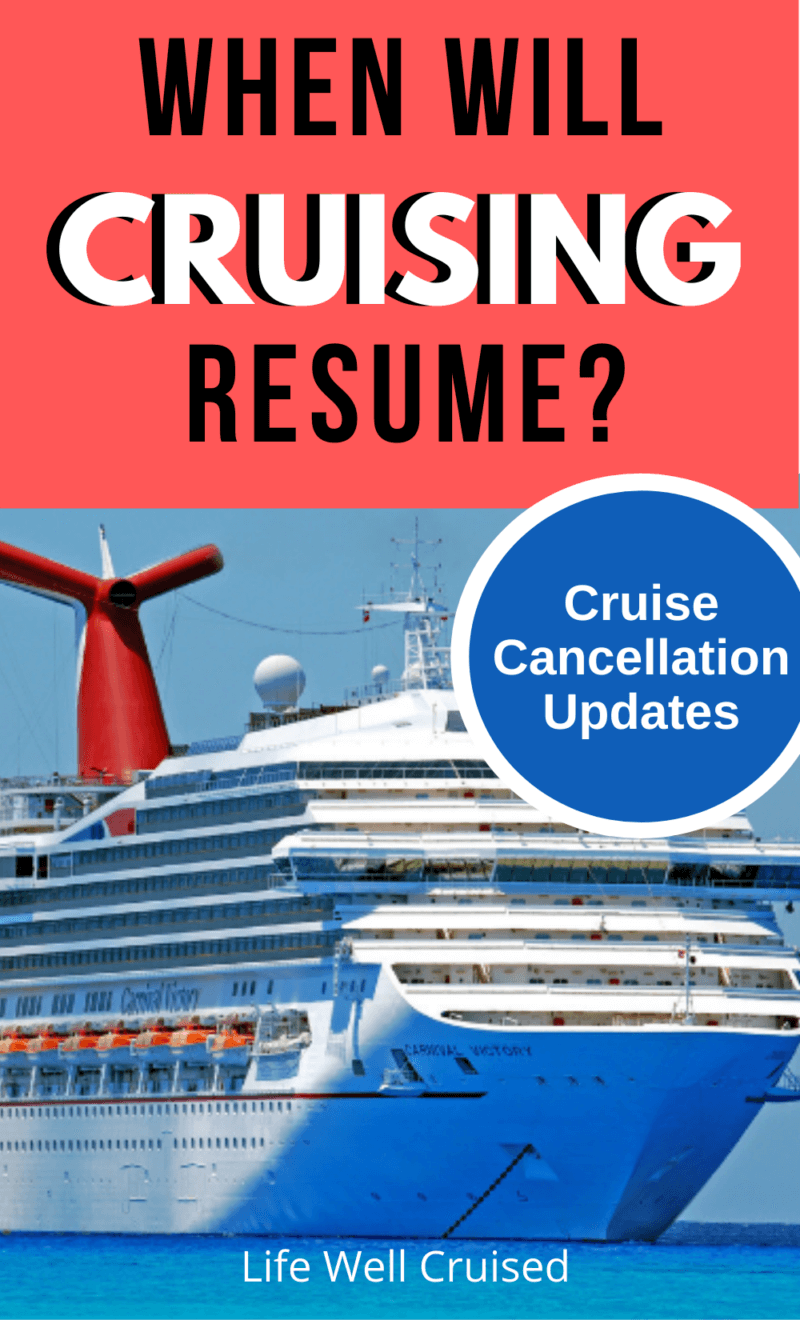 When Will Cruising Resume (Updated) and Frequently Asked