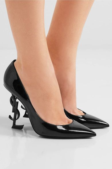 Saint Laurent Opium Patent Leather Heels HKTKYCzdc