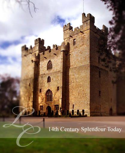 Langley Castle , Northumberland, England
