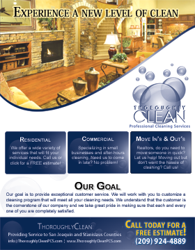 Cleaning Companies Flyers Flyer Templates On Cleanoutlook - Commercial cleaning brochure templates