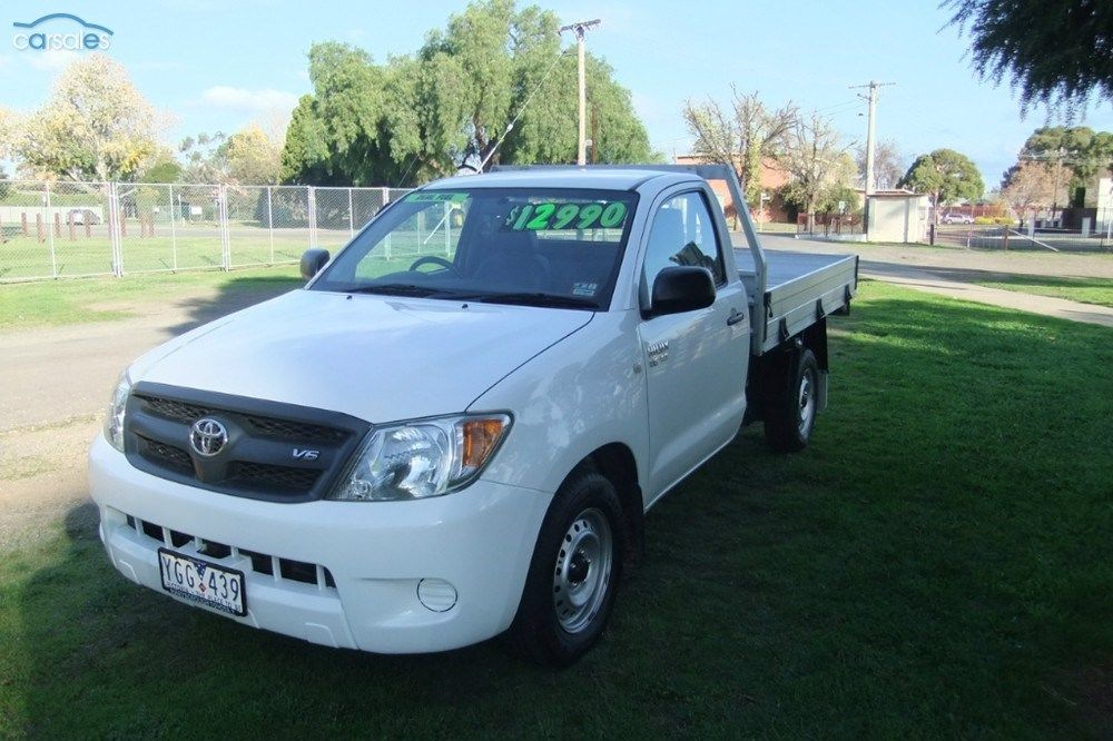 2008 Toyota Hilux GGN15R SR MY08 Toyota hilux, Cars for