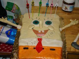 Dolcizi@: Torta Spongebob