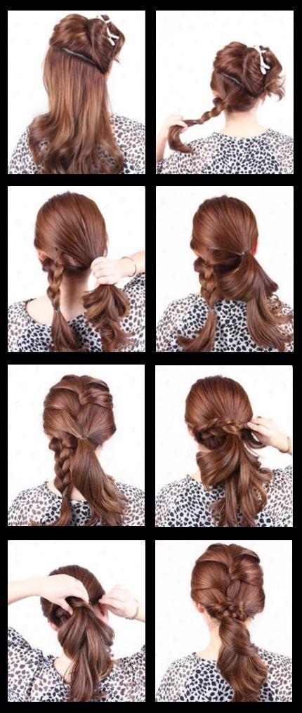 Excellent 1000 Images About Hair Tips On Pinterest Braids Braided Hair Short Hairstyles Gunalazisus
